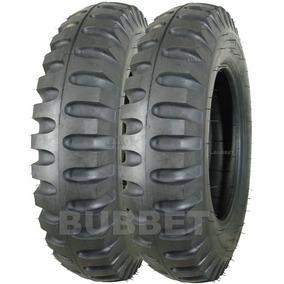 02 Pneus 6.00-16 Pirelli Miltar P/ Jipe Willys Ford Jeep Cj5