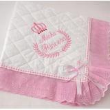Manta Bebe Menino Menina + Protetor Pescoço + Travesseiro