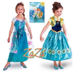 Vestido Frozen Fever Elsa Envío Gratis Barato Niña Disney