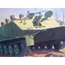 1/32 Modelismo A Escala Glencoe Btr-50 Personnel Carrier