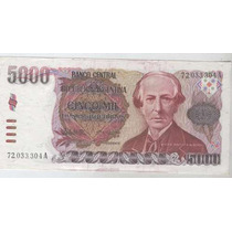 Billete 5000 Pesos Argentinos Serie A Sin Circular!!!!!!!!!!