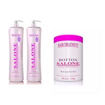 Selagem Termica Salone Efeito Liso Sedoso + Botox White 1k
