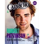 Livro Capricho - Robert Pattinson Abril