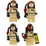 Los Cazafantasmas Peter Ray Egon Winston Compatible Con Lego