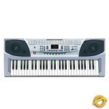 Teclado Organo Instrumento Musical 54 Teclas Mk 2083