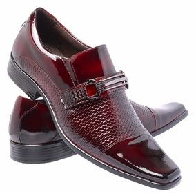 3dae8e3a57e22 Sapato Social Couro Legitimo Verniz - Sapatos Coral no Mercado Livre ...