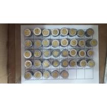 Coleccion 38 Monedas Conmemorativas De 5 Pesos Bicentenario