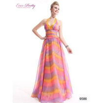 Vestidos De Fiesta-quince-egreso Ever Pretty Multicolor