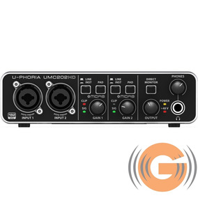 Interface Audio Usb Behringer Midas Umc202 Hd - G Musical