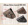 Alforge Bolsa Solo Harley Hd 883 Lateral Couro Moto Custom