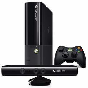 Xbox 360 Super Slim Semi Novo + Controle + Kinect