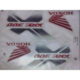 Kit Adesivos Faixas Honda Xre 300 - 2014 - Branca
