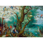 Foto P/ Quadro Jan Van Kessel 80x110cm Concerto Dos Pássaros