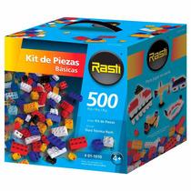 Rasti Ladrillos Kit 500 Piezas Básicas Juego Original Envio