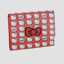 Carteira Hello Kitty Bez Branca E Vermelha Choice Bag