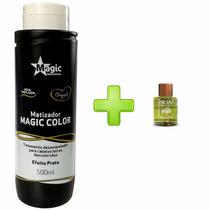 Magic Color Platinum Blond Queratina E Açai Mascara + Argan
