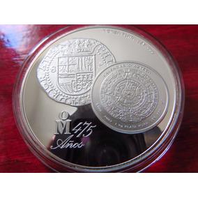 Moneda Medalla 475 Aniversario Cmm La Antigua Casa De Cortes