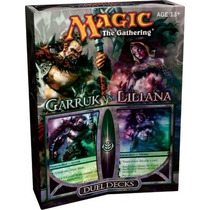 Duel Deck Garruk Vs Liliana [nuevo] [sellado] [magic]