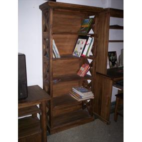 biblioteca alta xx rstica estilo campo xxm