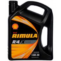 Óleo Shell 15w40 Rimula Rt4x Ci-4 Mineral 4 Litros