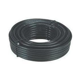 Cable Coaxial Rg6 Bobina De 50 Mtrs Con Sus Conectores Tv