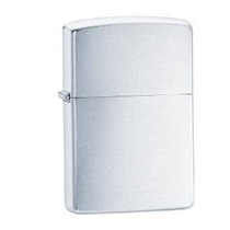 Isqueiro Zippo - Regular Cromado Escovado - 200