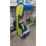 Telefonos Semipublicos + Cabina De Madera!