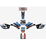 Kit Calcos Graficas Yamaha Yzf 250/450 - All Years Tntcalcos