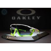 Gafas Oakley Jawbreaker Polished White /jade Iridium 9290 03