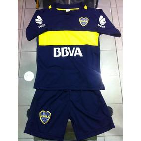 Nuevo 2017 Conjunto Boca Juniors Camiseta Short Niños Blanco