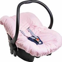 Capa Para Bebê Conforto Rosa Pequena Princesa - Hug Baby