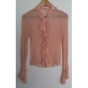 Camisa Gasa Arrugada Rosa Kosiuko Talle S
