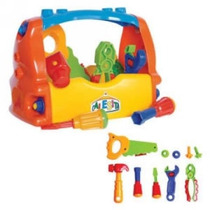 Caixa De Ferramentas Calesita Brinquedo Frete Gratis