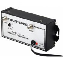 Amplificador De Distribución De 25 Db, Para Vhf, Uhf Y Fm