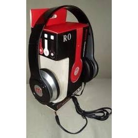 Fone De Ouvido Preto Headphone Mp3 Pc Universal Com Fio