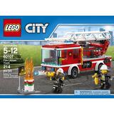 Lego City 60107 Camión De Bomberos Con Escalera 214 Pzs