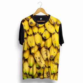 Camisa Blusa Bananas Cacho Swag Estilo Dope Amarela Preta