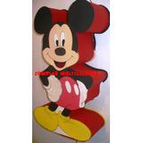 Piñatas En Goma Eva, Mickey, Sapo Pepe, Princesas Bebes