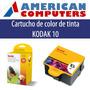 Cartucho Original Kodak 10 Negro+color Combo Esp 3 5 7 6150