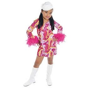 Disfraz Para Niña Go Go-3-traje Grupo Papel Mágico De La Mu