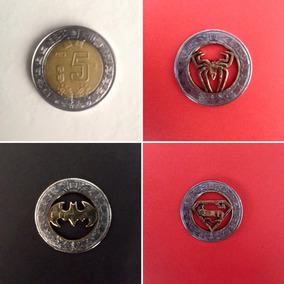 Monedas De 5,10,20y1985 En Collares O Llaveros Hecho A Mano