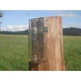 Pluviómetro Vidrio Y Acero Inox * Durable* Garantia Fabrica