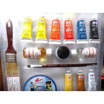 Pinturas Oleo Atl, Kit. Curso Completo