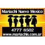 Mariachis,100% Orig Mariachi Shows Mexicanos En Buenos Aires