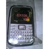 Capa De Silicone Top Para Motorola Ex108/ex109 + Frete Gráti