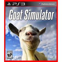 Goat Simulator Ps3 Psn - Simulador De Cabras - Lancamento