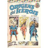Lançamento Nº 1 - Origens Dos Herois - Mar-abr/1975 - Ebal