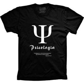 Camiseta Psicologia Camisa Curso Superior Faculdade
