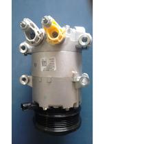 Compressor Ar New Fiesta 1.6 16v 2013 A 2015 -original Caixa