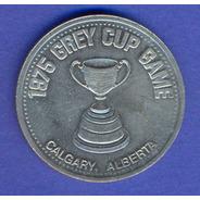 Medalla 1975 * Liga De Futbol De Canada * Centenario Calgary